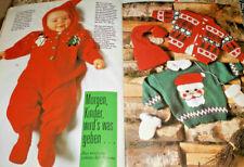 Neue Mode / Mikado von1991 Baby  Stricken Strickheft Bilderpullis um
