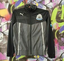 Newcastle United FC FOOTBALL SOCCER JACKET LONGSLEEVE NUFC Boys Youth Size L