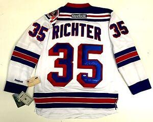MIKE RICHTER SIGNED NEW YORK RANGERS REEBOK 1994 STANLEY CUP JERSEY STEINER COA