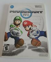 Mario Kart (Nintendo Wii, 2008) Great Condition - Complete - Tested - Authentic