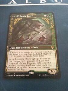 MtG Sarulf Realm Eater full art