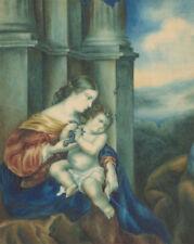 Peintures et émaux du XIXe siècle et avant aquarelles portrait, autoportrait pour classicisme