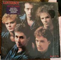 Loverboy Keep It Up Lp HYPE open shrink VINYL VG++