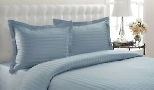 """Lux Impressions 100% Egyptian Cotton Duvet Set Full/Queen ~ 90"""" x 90"""" ~ Blue NEW"""