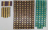 Lot of 234 Vintage Mostek CPUs RAM Ceramic Processors UNTESTED for Scrap Gold