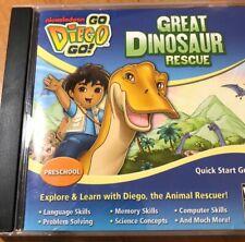 Go, Diego, Go Great Dinosaur Rescue Jewel Case (Windows/Mac, 2010)