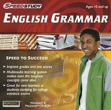 Speedstudy ENGLISH GRAMMAR  Great for new learners or college entrance exams NEW
