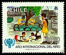 CHILE, 1979, INTERNATIONAL YEAR OF THE CHILD, MNH, VERY NICE STAMP.