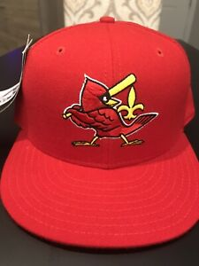 Louisville Redbirds Fitted New Era 5950 Cap Hat 7 NWT Made In USA