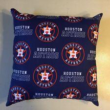 COMPLETE 15 x 15 HOUSTON ASTROS MLB PILLOW WORLD SERIES CHAMPIONS BASEBALL GIFT!