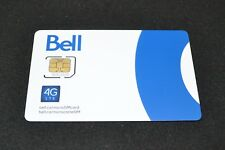 Bell SIM Card Micro-SIM LTE - Digital & Physical Delivery - Activate Sooner