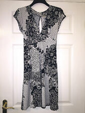 ZUPPE LADIES SUMMER HIPPIE BOHO STYLE FASHION DRESS, SHORT SLEEVED, SIZE UK 16