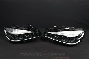 8739855 8739856 New OEM BMW 2er F45 F46 LCI LED Headlights Head Light Rhd