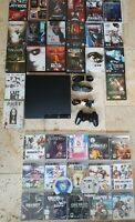 PlayStation 3 Slim 250GB PS3 Console Bundle 17 Games + 21 Horror DVD's Rated 18