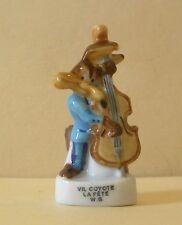 Fève La Fête - WB 2000 - Vil Coyote à la Contrebasse