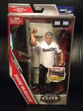 WWE Mattel Shane McMahon Elite Series 50 W/Breakable Wrestlemania Announce Table
