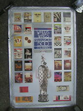 1911-1991 Wheels and Wings 75th Running of the Indianopolis 500 Poster Collage'