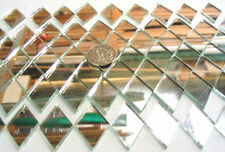 50 Mirror Diamond Mosaic Tiles 33mm x 22mm Arts & Crafts