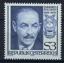 AUSTRIA 1982 MNH SC.1226 Emmerich Kalman,composer