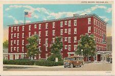 Hotel Moore Indiana PA Postcard