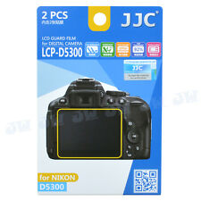 JJC LCD Display Guard Film Screen Protector Cover For Nikon D5300 D5500 D5600