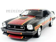 GREENLIGHT 12891 1978 78 FORD MUSTANG COBRA II FREE WHEELIN 1/18 DIECAST BLACK