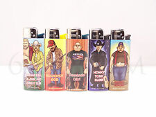 5 pcs Brand New Clipper Lighters Trucker Design NON REFFILABLE
