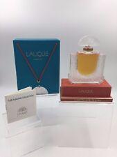 Lalique France 1993 CHEVREFEUILLE Parfum Crystal Flacon Collection Bottle-Box