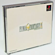 Final Fantasy IX 9 PS1 Sony Japan Import PlayStation SQUARE RPG PSX NTSC-J FF