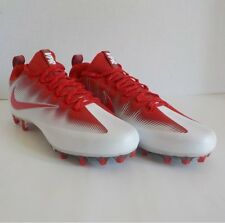 Nike VAPOR UNTOUCHABLE PRO Carbon Football Cleats RED WHITE 844816 160 SIZE 12.5