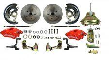 Camaro Chevelle Wilwood D52 2 Piston Caliper Power disc brake conversion kit