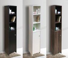 Vitrinas y armarios de color principal negro para el baño