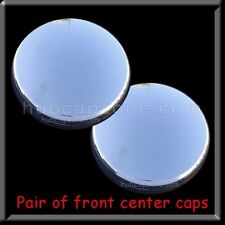 (2) 2003-2018 Chrome Center Caps Dodge Ram Truck 3500 Pair Front Wheel Hub Caps