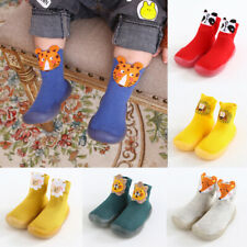 Infant Baby Girl Boy Anti-slip Crawling Slippers Socks Toddler Cotton Crib Shoes