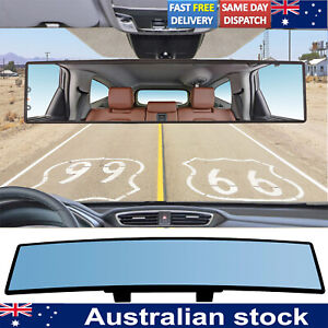 300mm Car Large Vision Convex Clear Lens Rear View Mirror Wide Angle Anti Glare