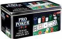 Malette de poker 200 jetons Cartes 5 Dés 1 Bouton Dealer Mallette en Aluminium