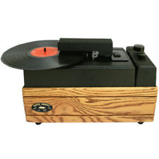 NITTY GRITTY MINI-PR0 2 RECORD CLEANING MACHINE IN OAK OR CHERRY FINISH NEW