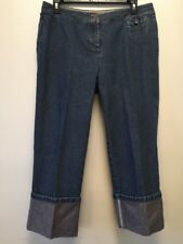 J Jill Jeans Crop Capri Womens 12P Petite 30 X 21 Genuine Fit Below Waist WJ40ST