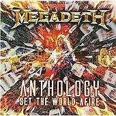 Megadeth - Anthology: Set the World Afire (2008)  2CD  NEW/SEALED  SPEEDYPOST