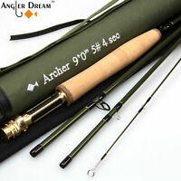 """7'6""""/8'/9' Fly Rod 3 4 5 8WT IM10 / 36T Carbon Fiber Fast Action Fly Fishing Rod"""