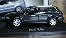 1:43 Audi RS4 Avant B5 black schwarz MINICHAMPS PMA Modellauto modelcar nero