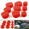 Frame Hole Cover Caps Plugs Decor Set For BMW R1200GS/LS/ADV 2017-2018 Red A0