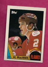 1987-88 TOPPS # 72 FLAMES AL MACINNIS EX-MT CARD (INV# A6534)