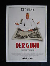 Filmplakatkarte cinema   Der Guru   Eddie Murphy