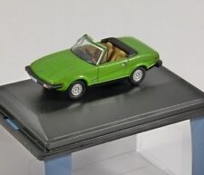TRIUMPH TR7 in Triton Green 1/76 scale model OXFORD DIECAST