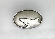 "UmjuBelt Schließe ""Shark silver"""