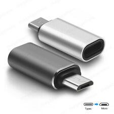 USB 3.1 Type C Female to Micro USB Male OTG Host Adapter Converter (NO CHARGING)