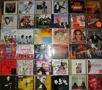66 CD Sammlung -Rock,Pop,Dance etc. - SEHR VIELE OVP/VERSCHWEISST -siehe Bilder!