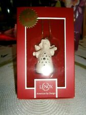 Lenox Angel Wishes Heart Bell Ornament Collectible Figurine Mib