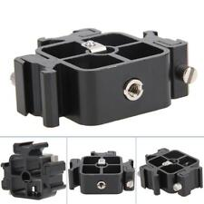 1X All-metal  Three Hot Shoe Mount Adapter Flash Holder Bracket - 3 Triple Head